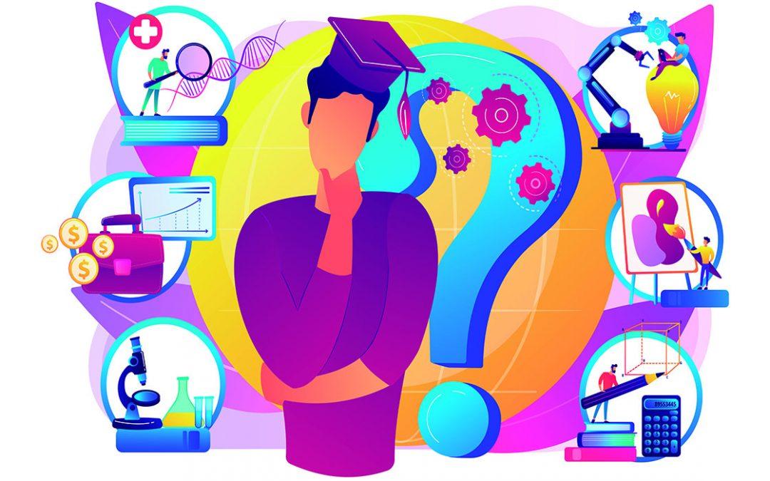 Evolución del proceso de formación vocacional y orientación profesional.